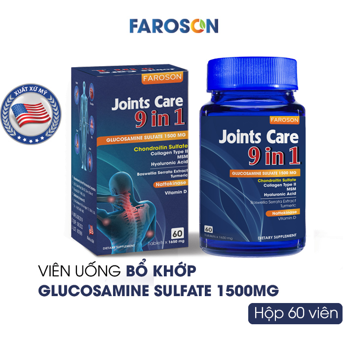 JOINTS CARE 9 IN 1 60 VIÊN